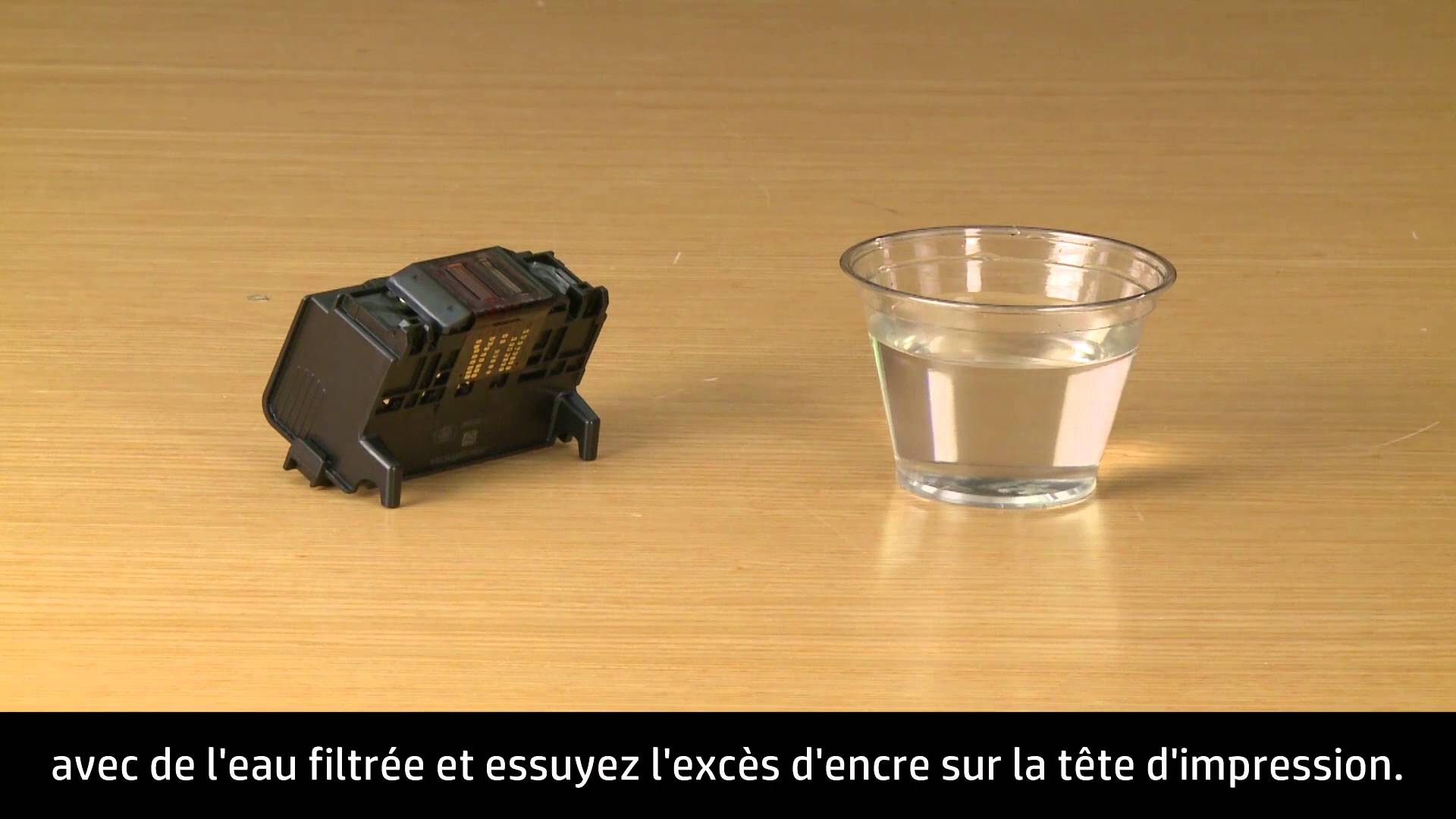 nettoyer tête d'impression hp