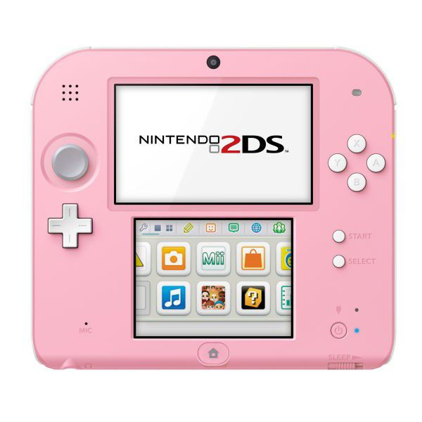 nintendo 2 ds rose