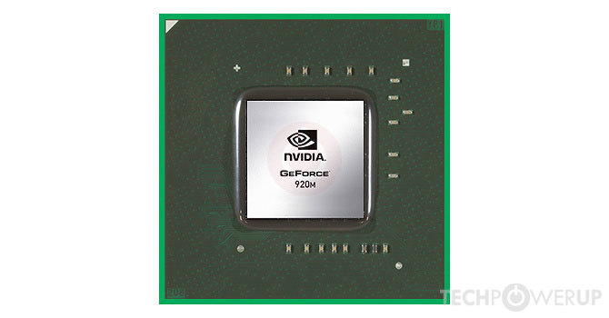 nvidia geforce 920
