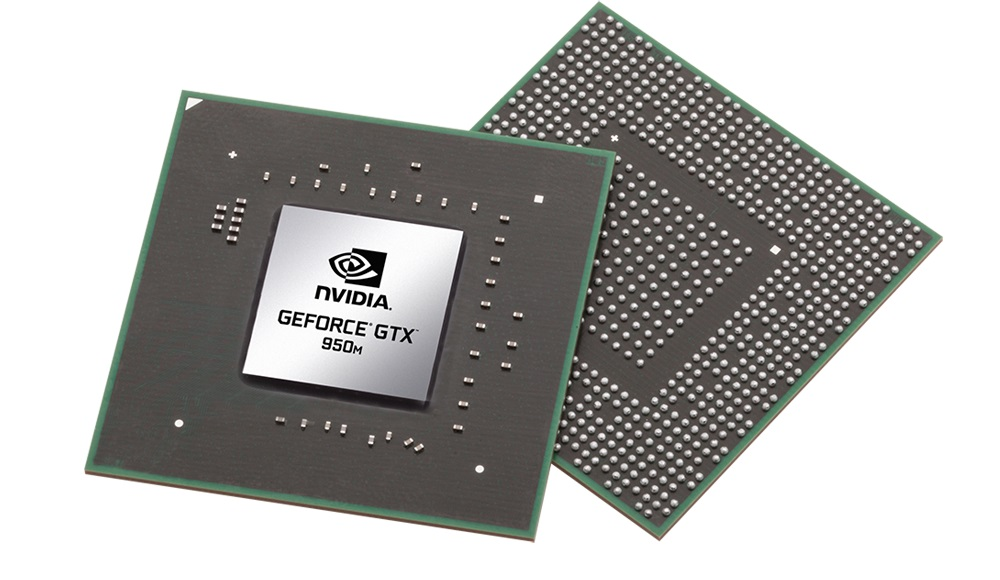 nvidia geforce gtx 950m 2g