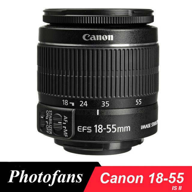 objectif canon 18-55