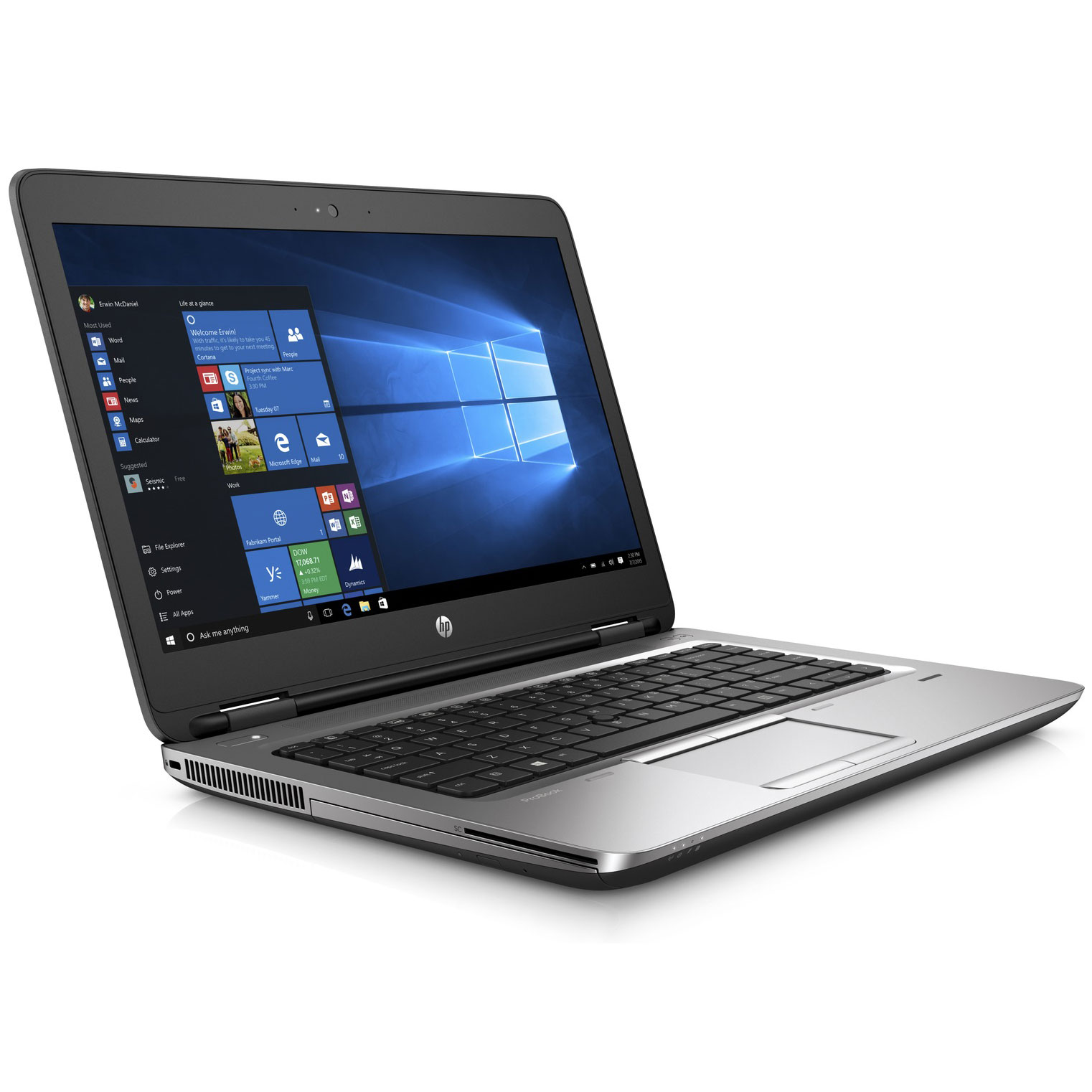 ordinateur portable hp windows 7 professionnel