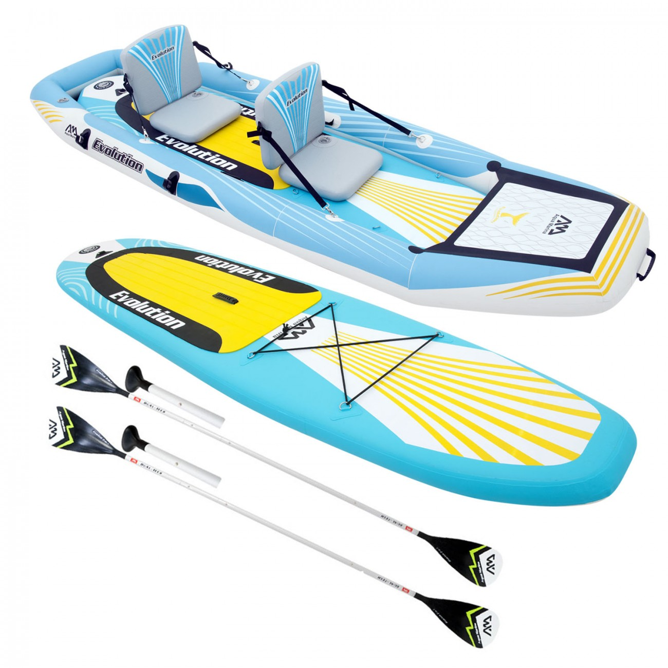 paddle kayak gonflable