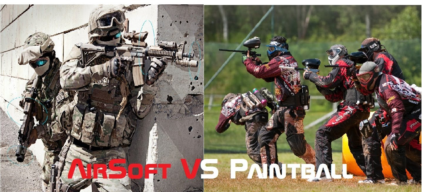 paintball ou airsoft