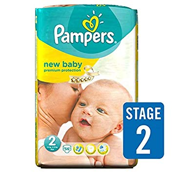 pampers new baby taille 2