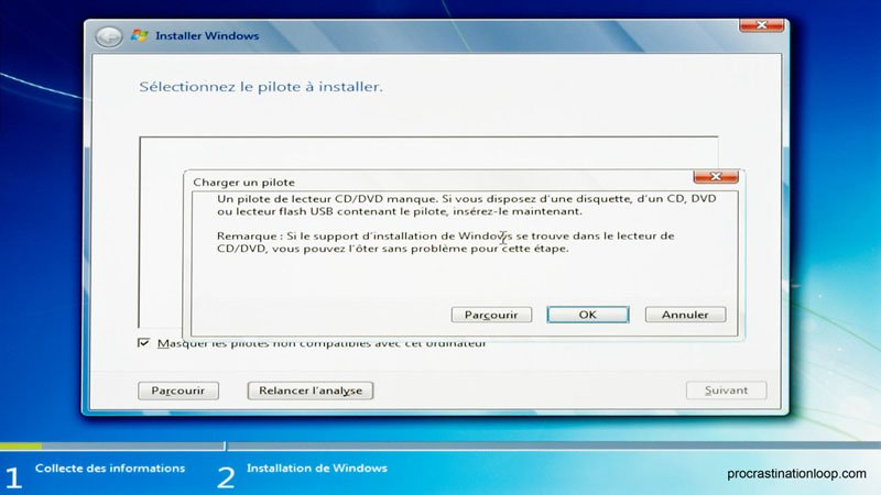 pilote lecteur cd dvd windows 10
