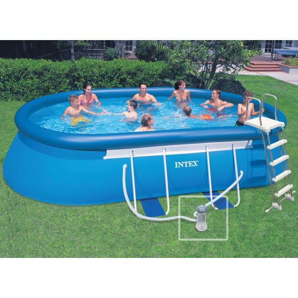 piscine ovale intex