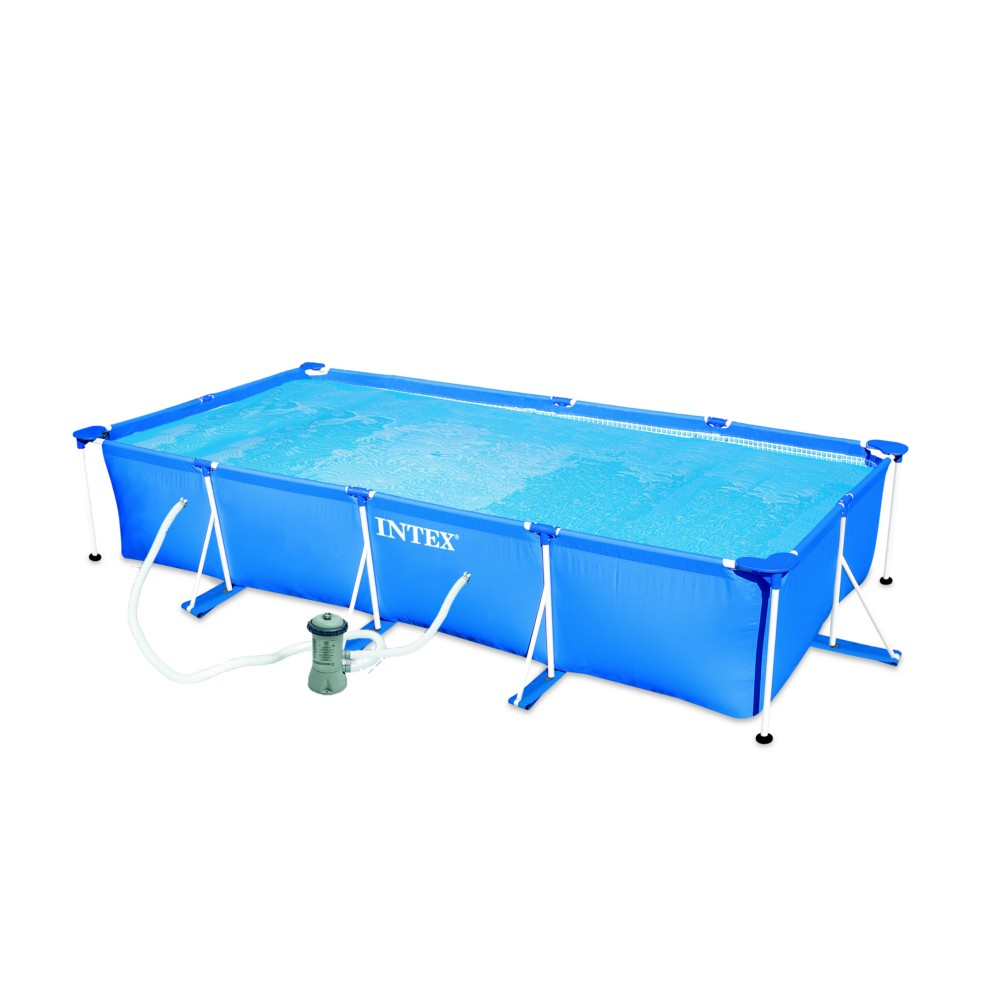 piscine rectangulaire tubulaire