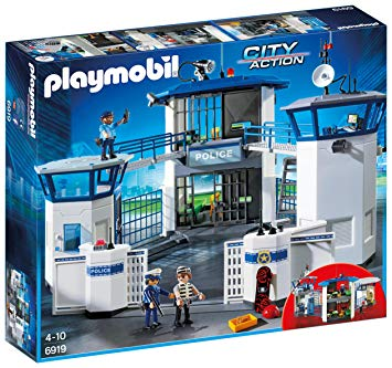playmobil commissariat