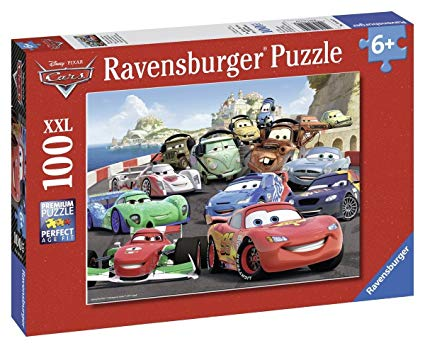 puzzle cars 100 pieces