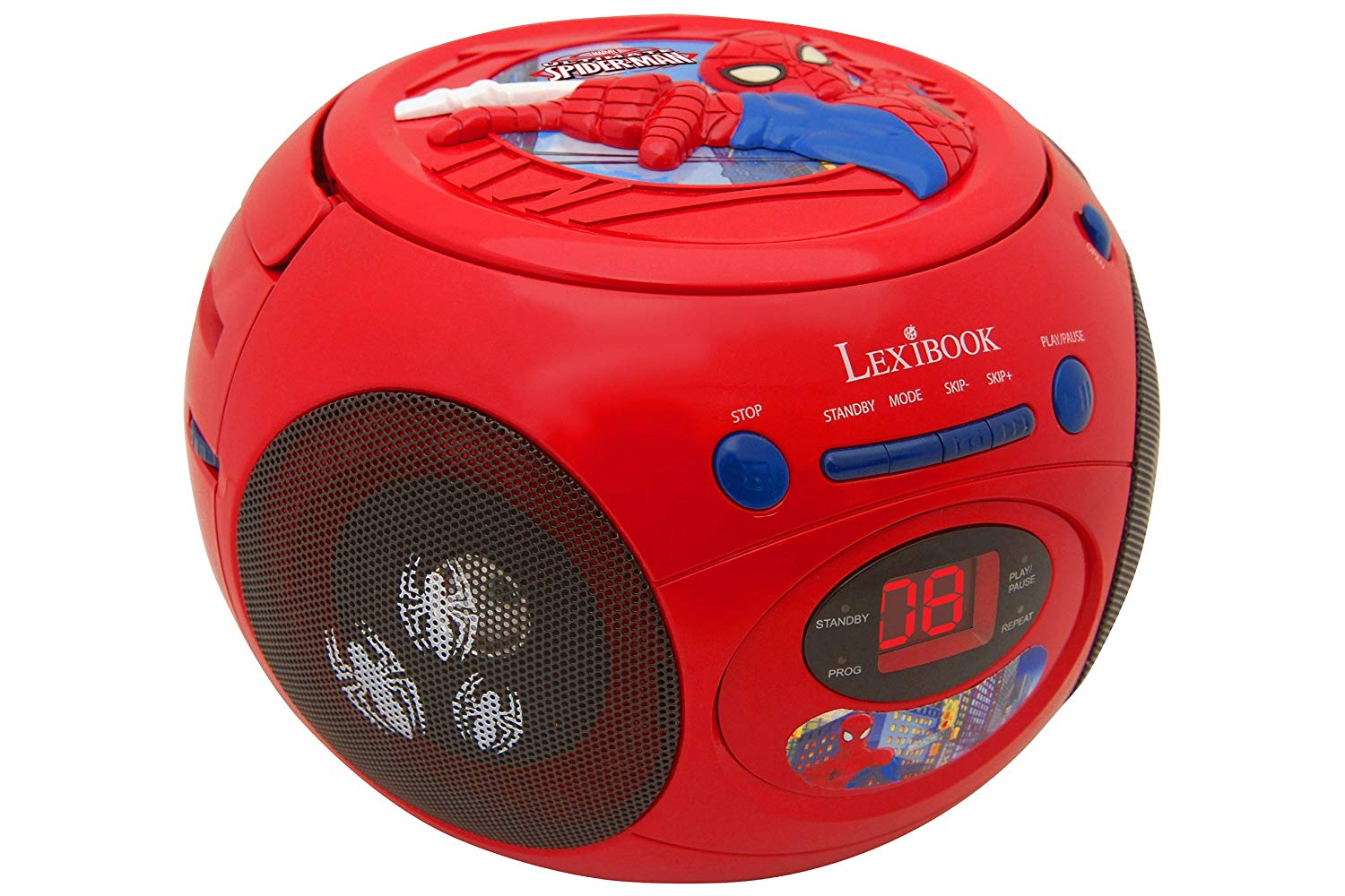 radio cd spiderman