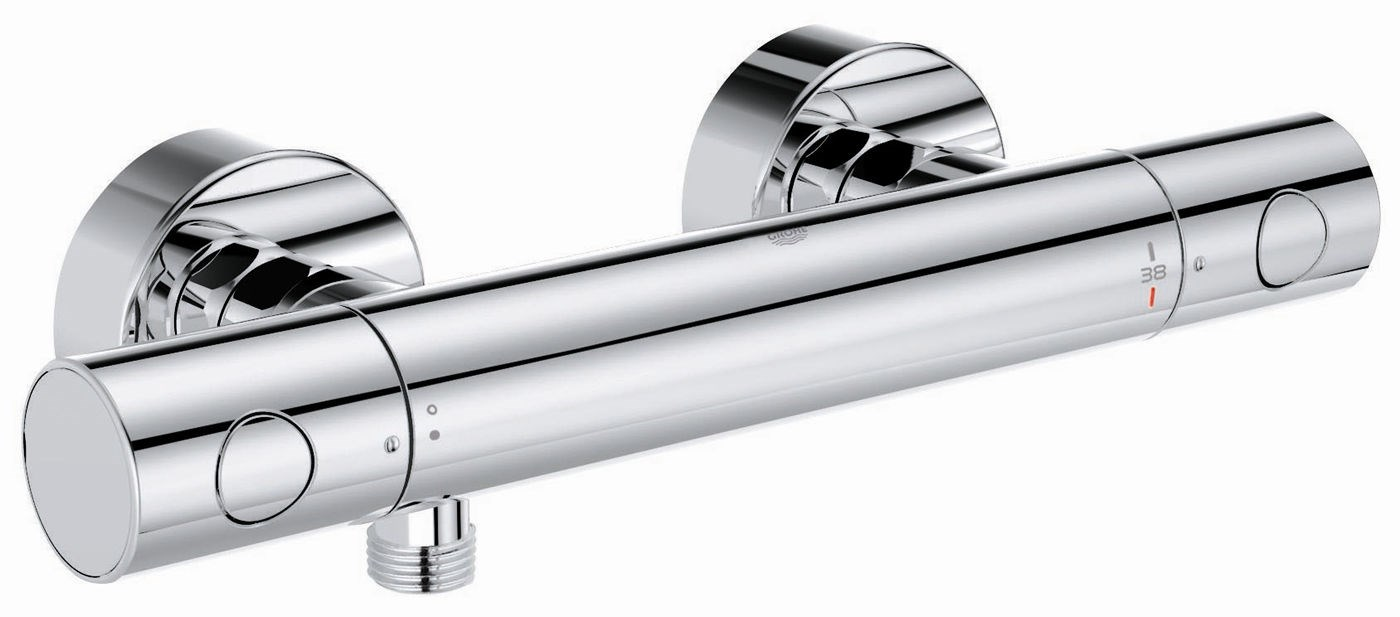 robinet douche grohe thermostatique