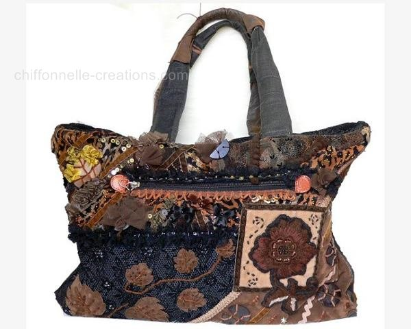 sac a main patchwork tissus