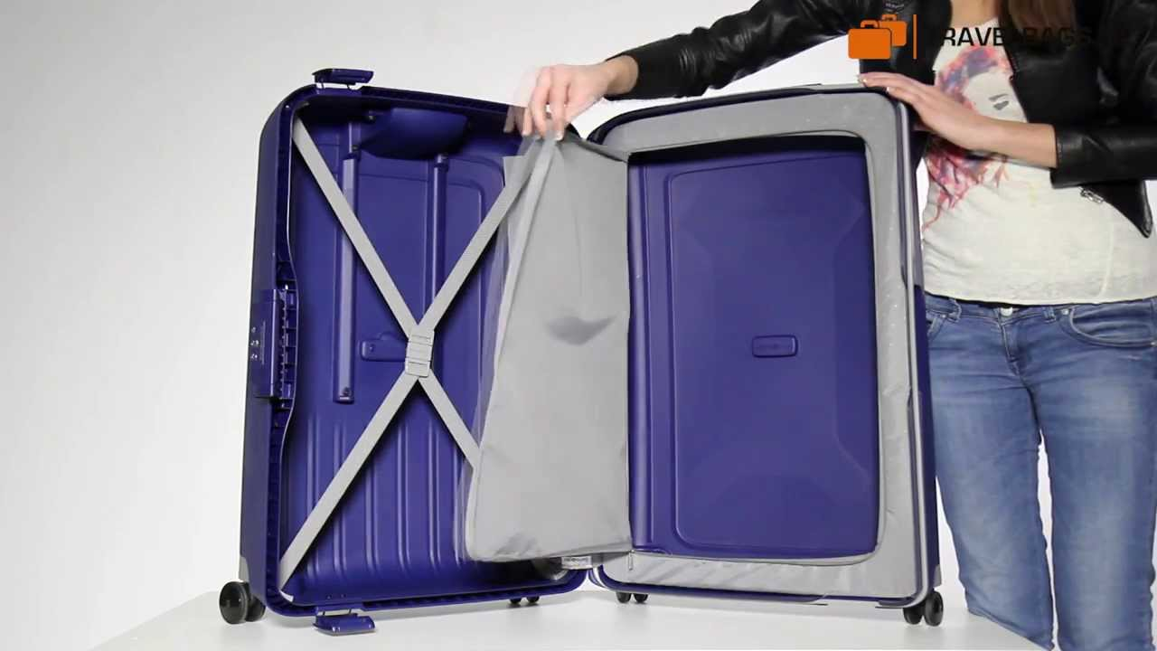 samsonite valise s'cure spinner