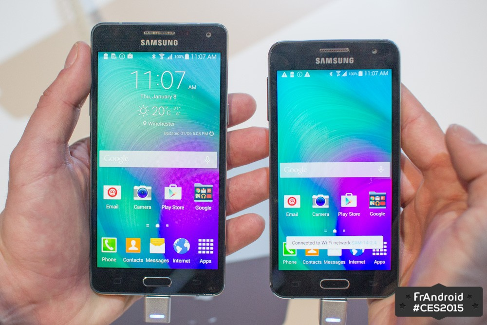 samsung a5 taille