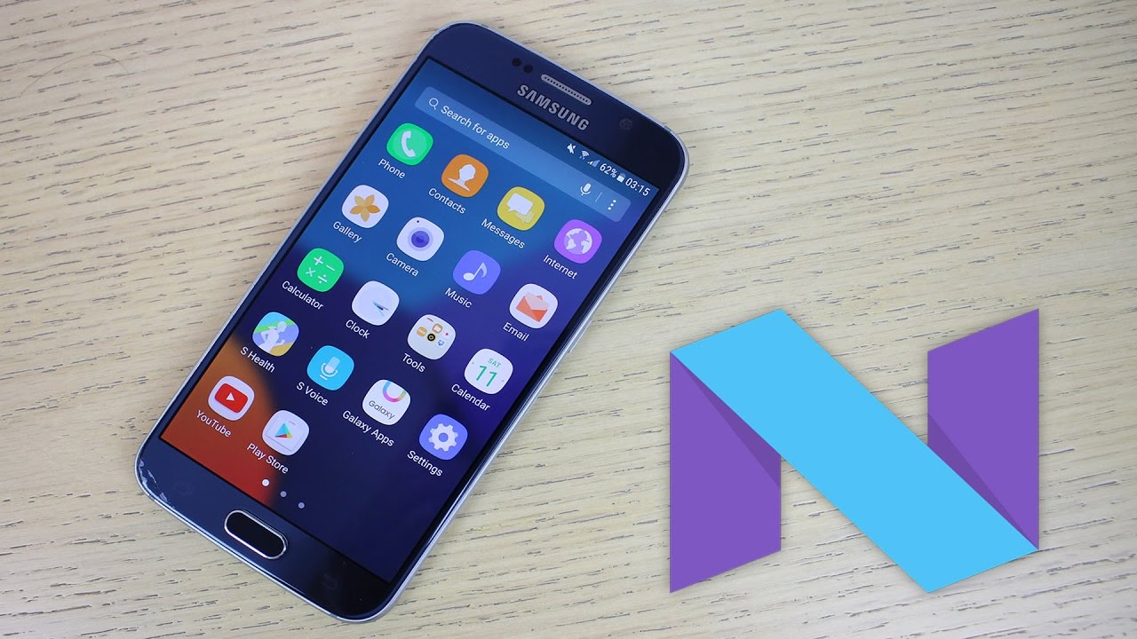 samsung galaxy s6 android 7