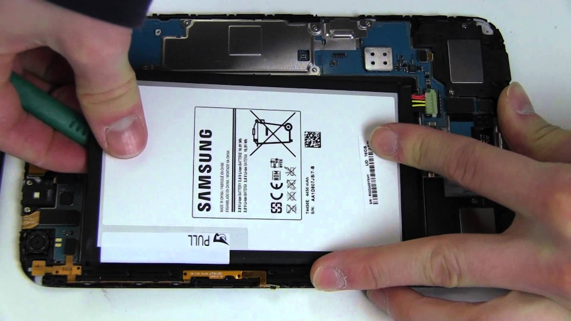 samsung galaxy tab 3 changer batterie