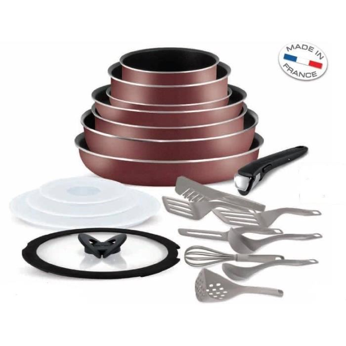 set 20 pieces tefal ingenio