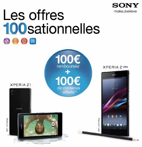 sony xperia remboursement