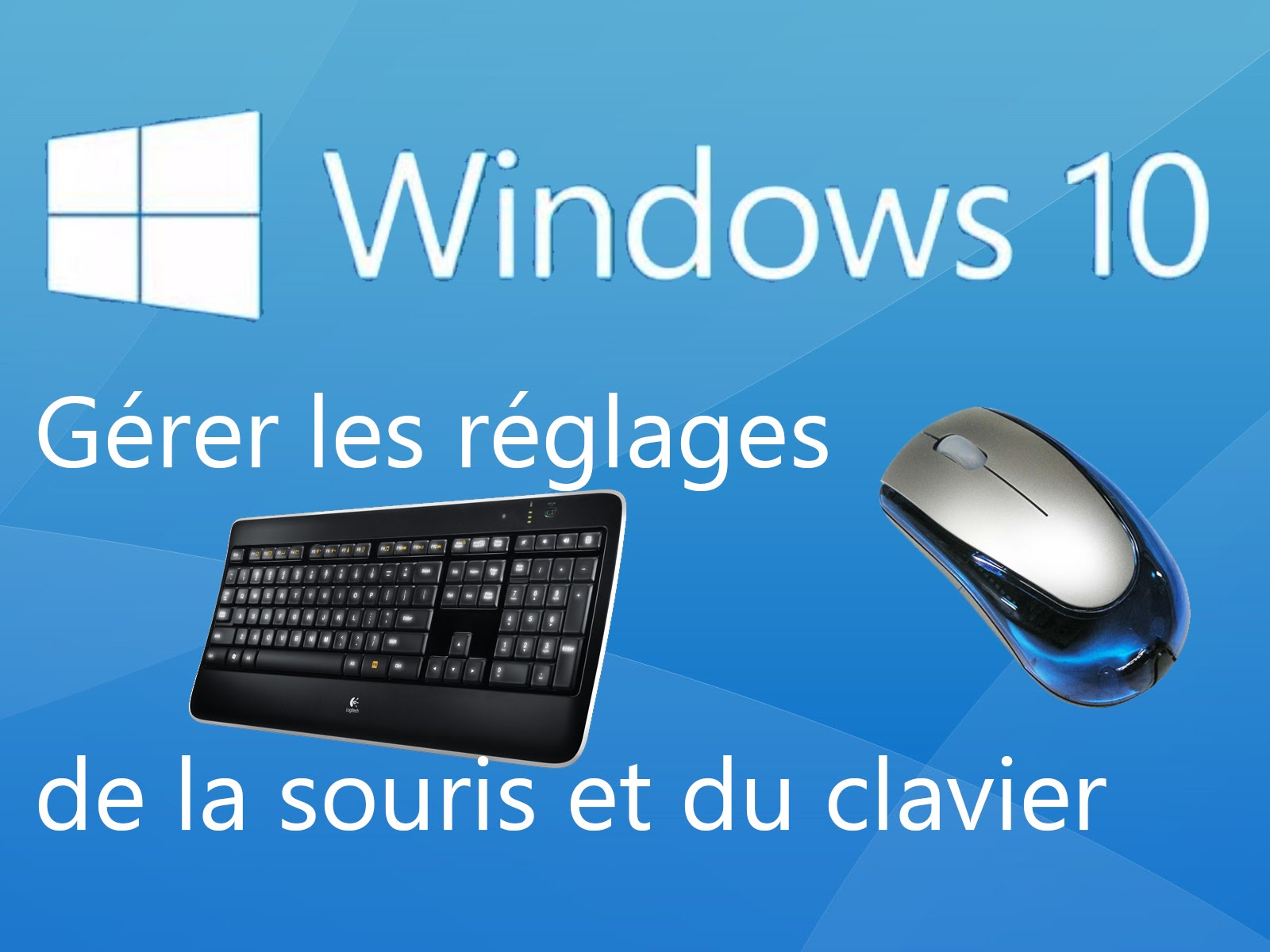souris et clavier ne fonctionne plus windows 10
