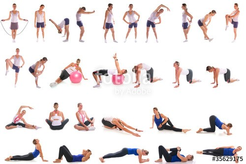 sport fitness exercice