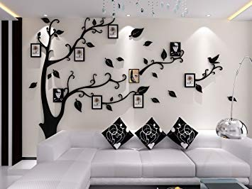 sticker mural arbre photo