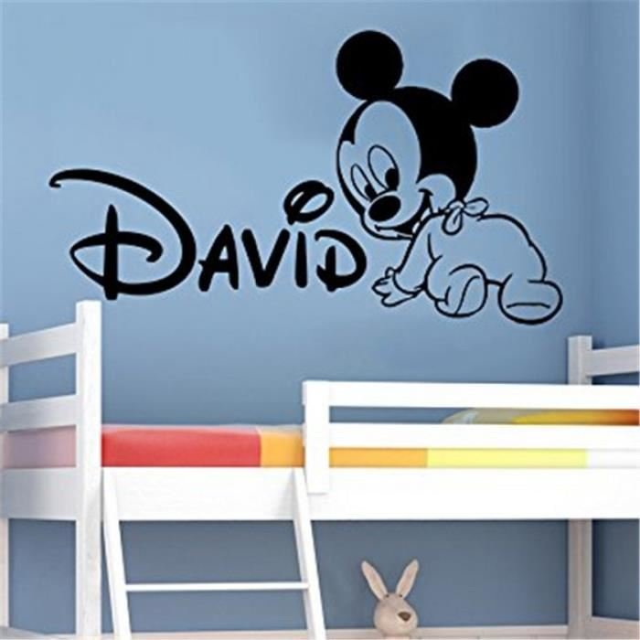 stickers mickey chambre