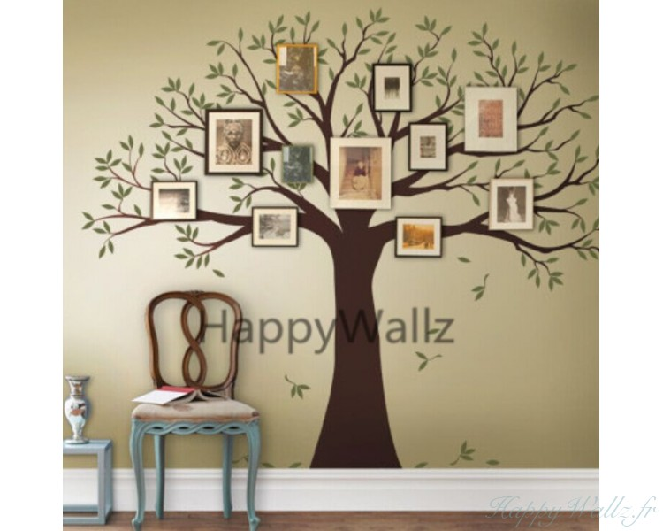 stickers muraux arbre photo
