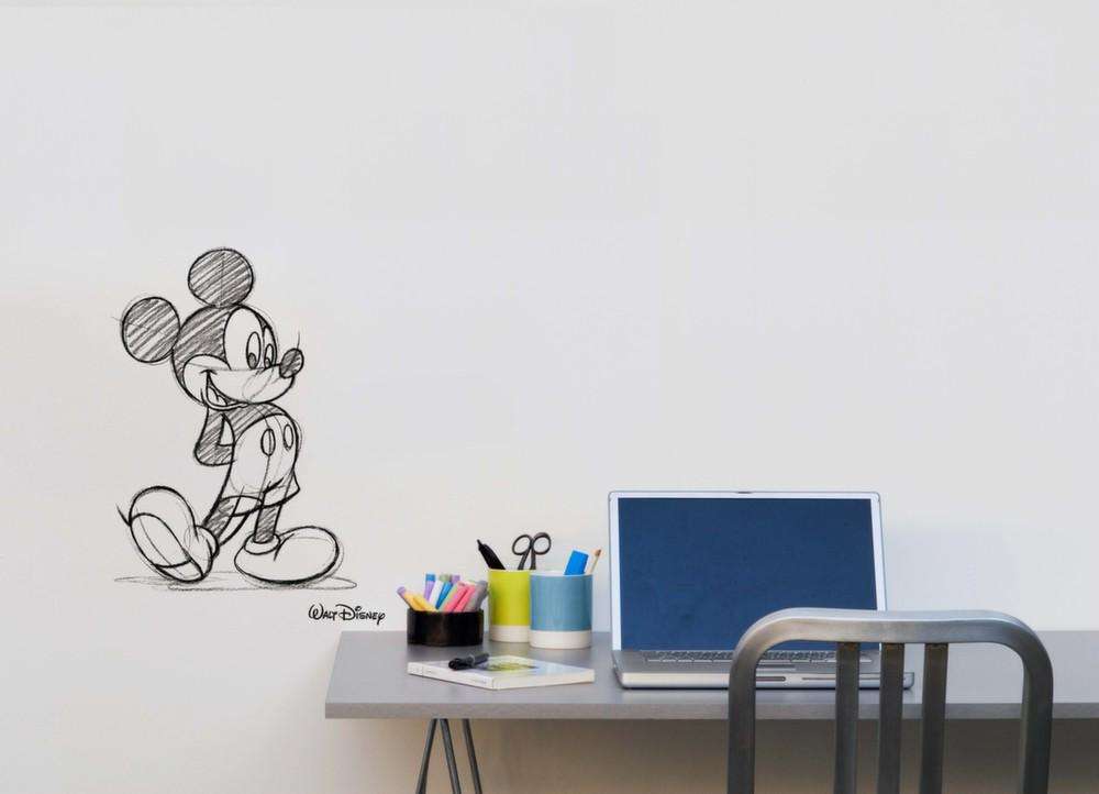 stickers muraux mickey