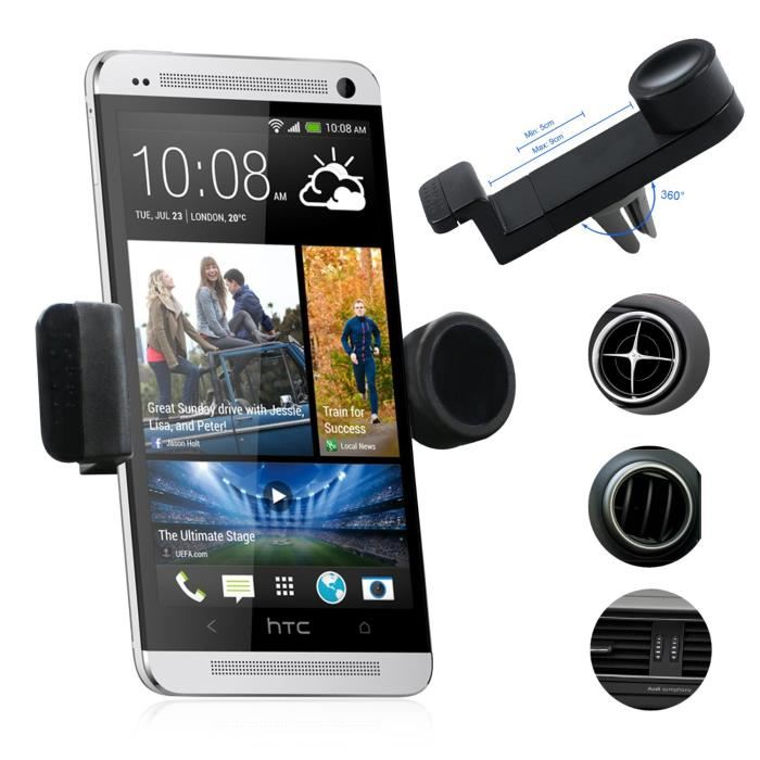 support voiture htc