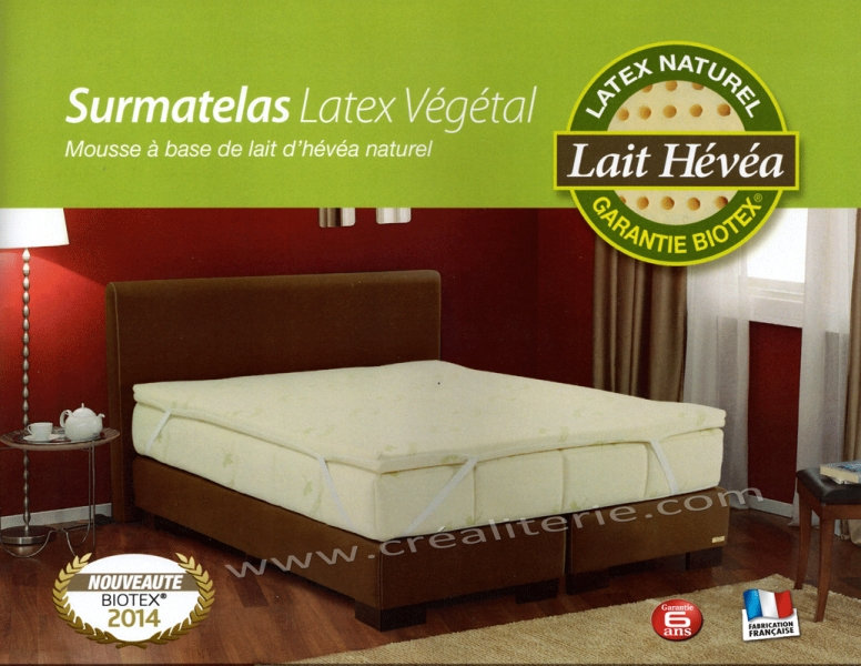 surmatelas naturel
