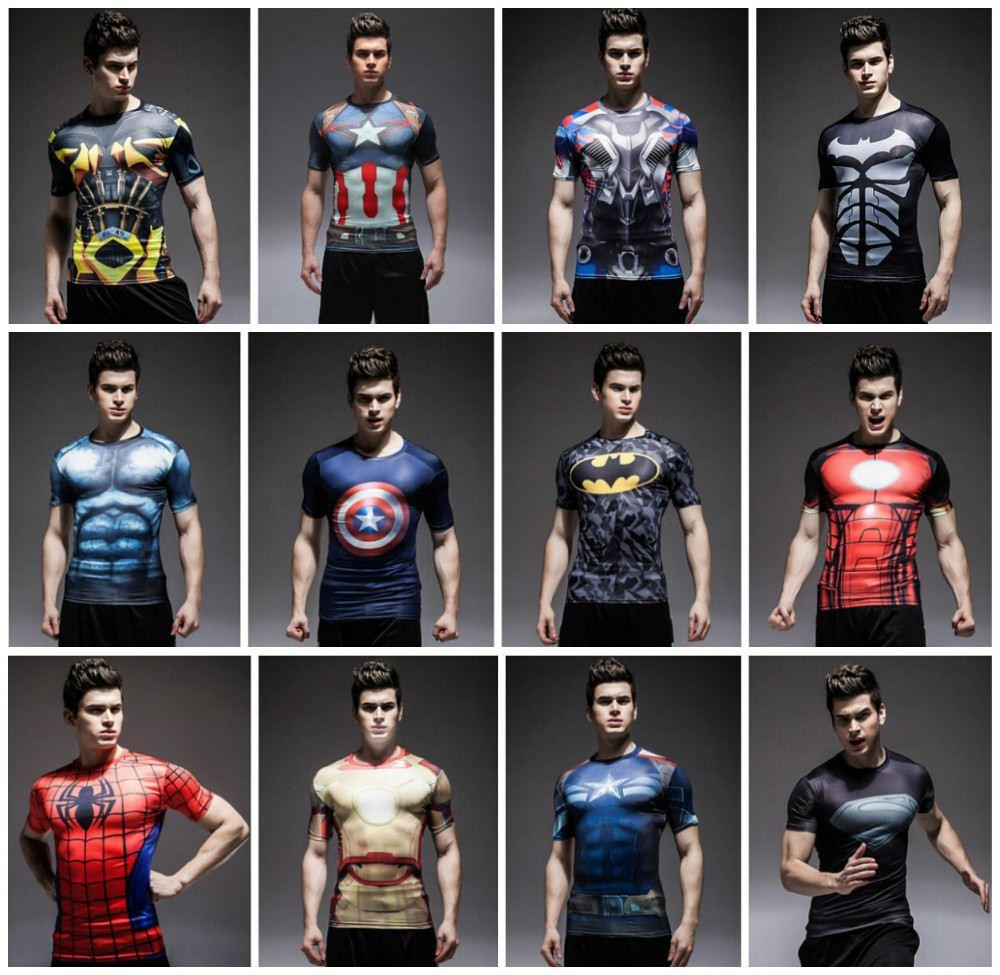 t-shirt compression marvel