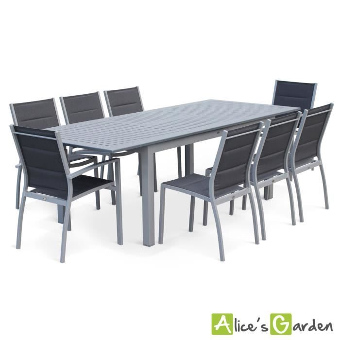 table de jardin 8 places