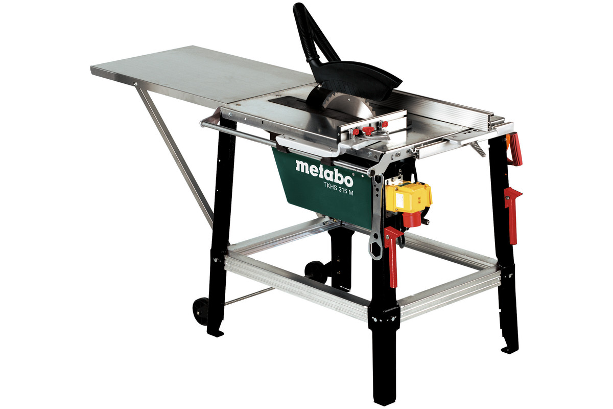table de sciage metabo