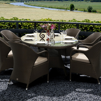 Best Salon De Jardin Resine Tressee Table Ovale Contemporary - House ...