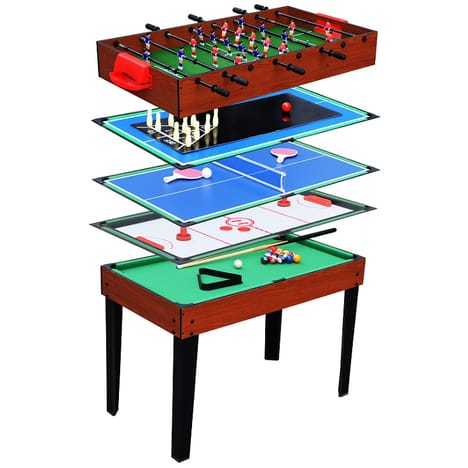 table multi jeux 5 en 1
