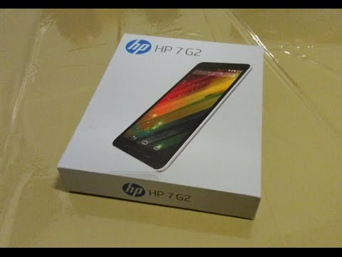 tablette hp 7 g2