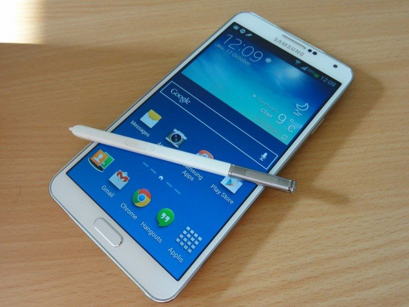 tablette samsung galaxy note 3