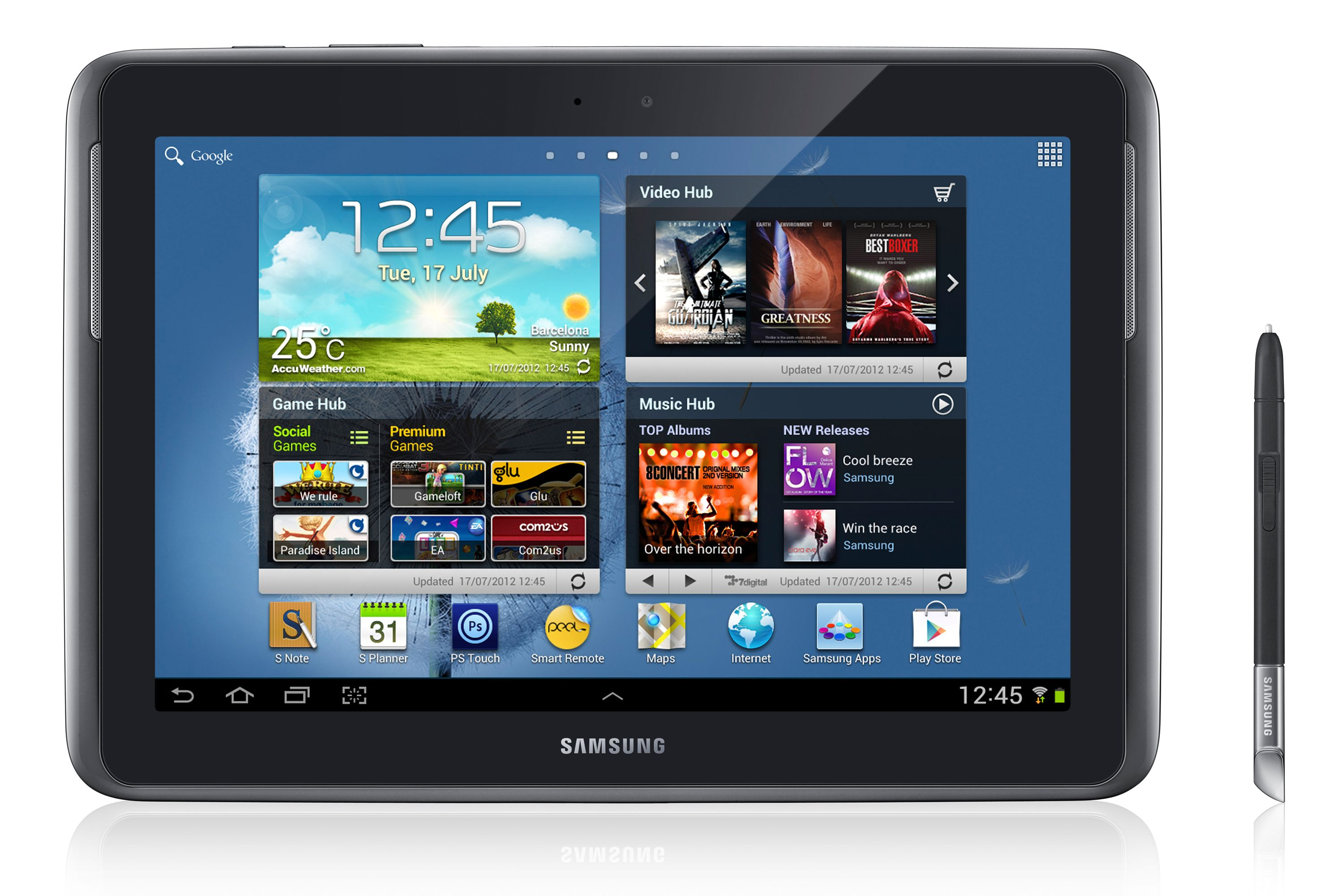 tablettes samsung 10.1
