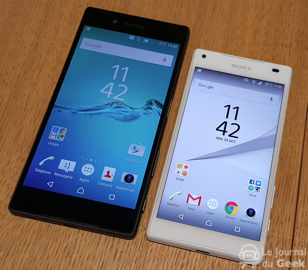taille z5 compact