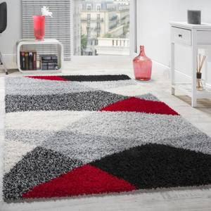 tapis salon rouge et gris - Tapis De Salon Rouge