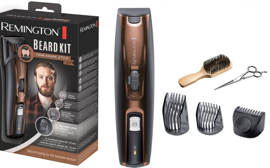 tondeuse remington beard kit