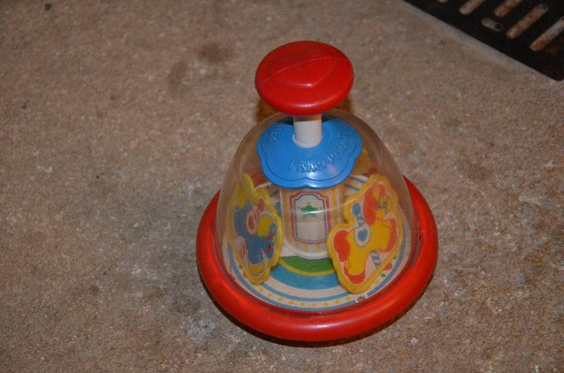 toupie fisher price
