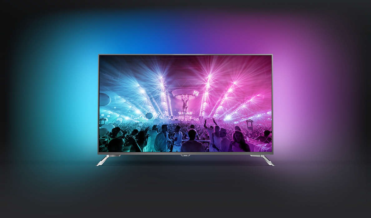 tv philips 4k ambilight