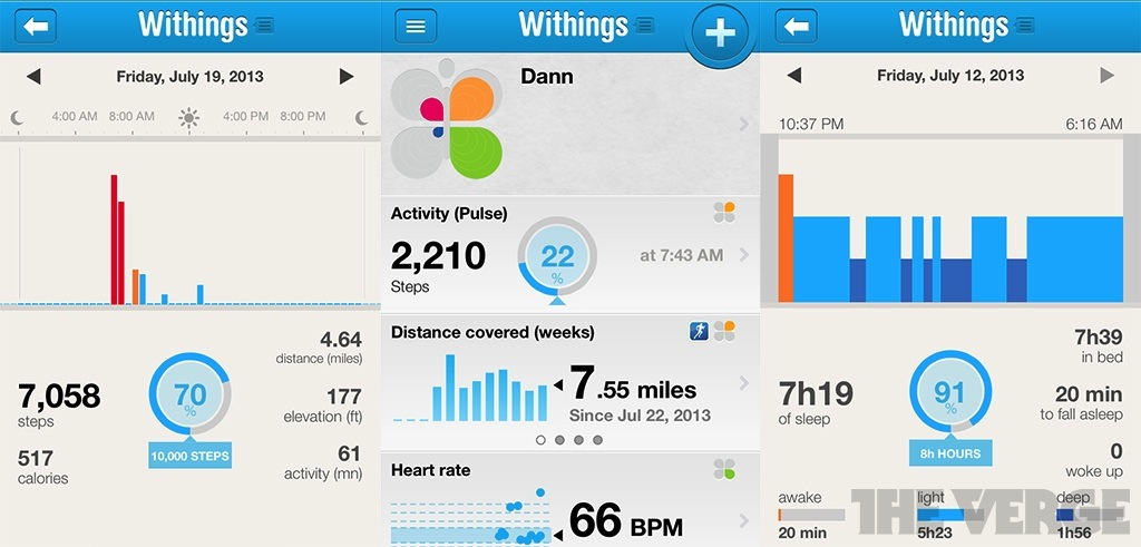withings application